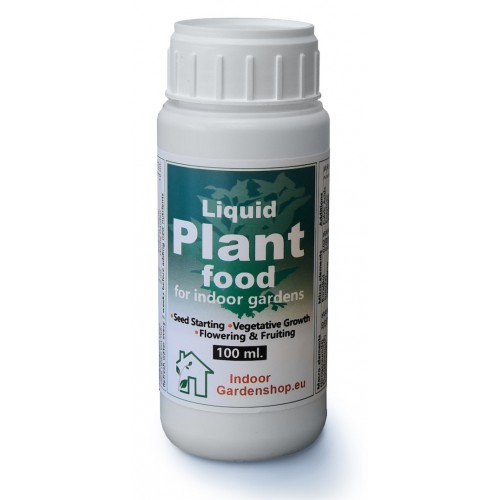 Liquid Plant Food For Indoor Gardens